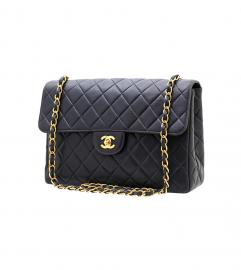 CHANEL VINTAGE QUILTED JUMBO SHOULDER BAG シャネル ヴィン