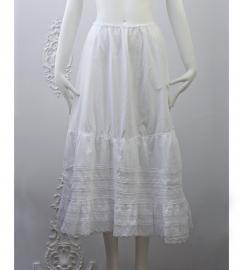 VINTAGE COTTON LACE SKIRT ヴィンテージ コットン レース スカート