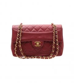 CHANEL VINTAGE RED CLASSIC SHOULDER シャネル ヴィンテージ